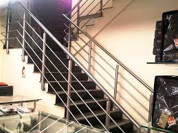 Stainless Steel Stair Handrails Stainless Steel Stair Railings Ss Stair Railings Steel Stair