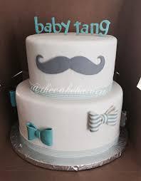 bow tie baby shower mustache bow tie baby shower cake sylvia maldonado flickr