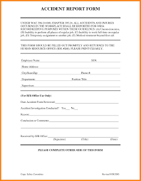 committee report template incident report format for office and incident report template