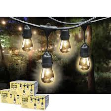 costco led string lights costco feit outdoor weatherproof string light set 48 ft 24 light