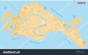 Venice Map Venice Street Map Stock Vector 157625213 Shutterstock