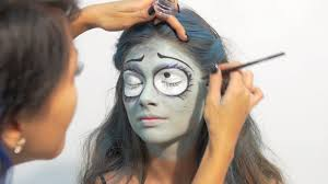 halloween corpse bride makeup halloween makeup tutorial corpse bride youtube