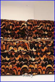 60s Sofas Mid Century Modern Loveseat Vintage Jack Lenor Larsen Couch Sofa