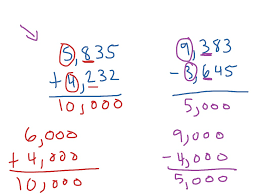estimating sums and differences of greater numbers math 3rd