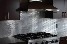 metal kitchen backsplash tiles kitchen chic stainless backsplash tiles kitchens