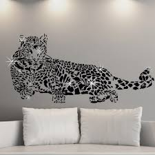 wall stickers uk wall art stickers kitchen wall stickers twinkle little star and swarovski crystals 24 95 c2aw000022 leopard king swarovski wall sticker