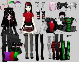 emo dress up games goth girlz dress up v 2 by shidabeeda on deviantart