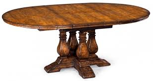 Dining Table Designs 2013 Furniture Vintage Country Walnut Round Extending Dining Table