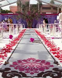 Aisle Runners A Smooth Walk Down The Aisle Non Slip Fabric Aisle Runners By The