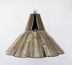 Mercury Glass Pendant Light Mercury Glass Chandelier Shades Roselawnlutheran