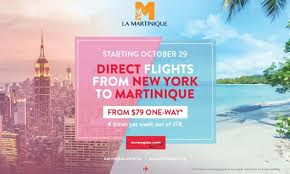 bureau center martinique improves its jfk nonstop air service to martinique us media
