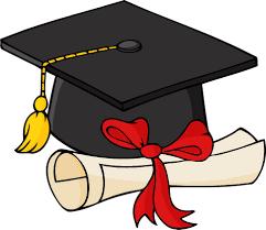 cap and gown graduation cap and gown clipart 2 clipartix