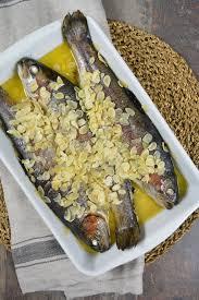 cuisine truite recette truite entière aux amandes cuisson basse température