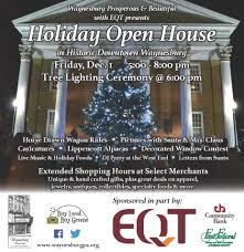 half price gift certs downtown waynesburg s open house this