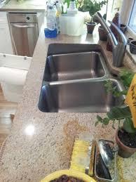 Undermount Sink Keeps Separating From Granite - Kitchen sink problem