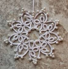933 best tatting christmas images on pinterest snowflakes