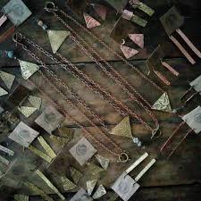textured copper earrings stellascloset