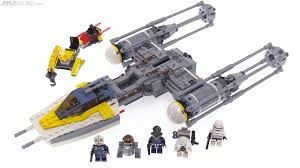 lego wars y wing starfighter review 75172