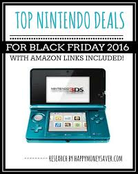 best electronic game deals on black friday top nintendo deals for black friday 2016