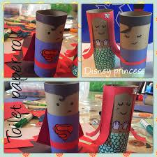 disney princess diy toilet paper roll creation craft kids my