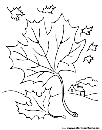blowing leaf coloring pages create a printout or activity