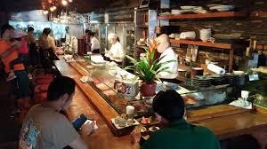 Japanese Bar Cabinet Liquor Cabinet Picture Of Seryna Japanese Restaurant Makati
