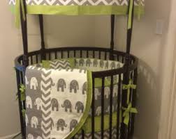 Green And Brown Crib Bedding by Boy Crib Bedding Lime Green Chevron Navy Blue And Grey