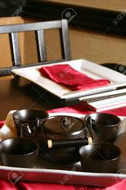 Formal Table Setting Japanese Table Setting