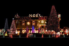 houses with christmas lights near me top biggest outdoor christmas lights house decorations digsdigs