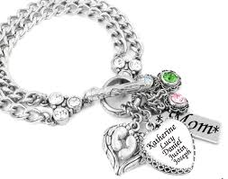 Mothers Bracelets With Names Grandmother Jewelry Mother U0027s Bracelet Grandmother Bracelet