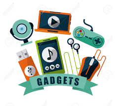gadgets tech design vector illustration eps10 graphic royalty