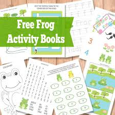 frog activity books itsy bitsy fun