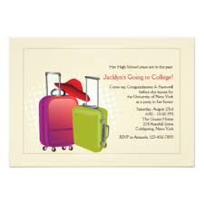going away to college invitations announcements zazzle au