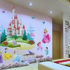 2016 new fashion retail removable kids u0027 bedroom 3d princesses