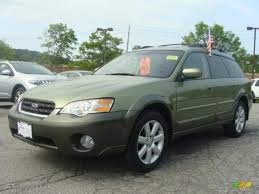 outback subaru green 2006 willow green opalescent subaru outback 2 5i limited wagon