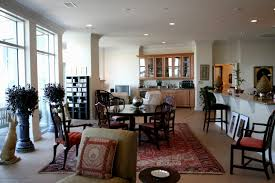 decorating ideas for open living and dining room floor plan best
