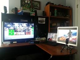 gaming l shaped desk my ultimate gaming setup ultimate gamer
