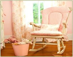 Padded Rocking Chairs For Nursery Nursery Glider Cushion Covers Fabric Rocking Chair For Nursery