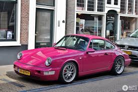 porsche pink porsche 964 carrera rs 30 april 2017 autogespot