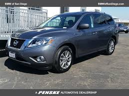 nissan pathfinder ground clearance 2016 used nissan pathfinder 4wd 4dr sv at bmw of san diego serving