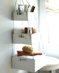 Hanging Bathroom Shelves Wicker Bathroom Shelf Door Wicker Wall Shelf Wicker Bathroom