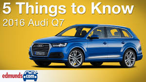 Audi Q7 Colors - 5 things to know about the 2016 audi q7 youtube