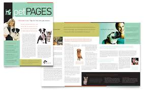 templates for word newsletters newsletter template illustrator veterinary clinic newsletter