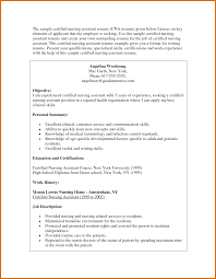 Reasons For Leaving A Job On Resume Example Of Nurse Resume