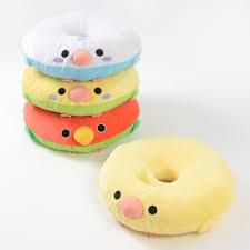 Cushion Donut Kotori Tai Dodeka Bird Donut Cushions Tokyo Otaku Mode Shop
