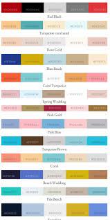 trending color palettes wedding color palettes trending wedding design trends 2016 2017 so