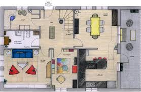 rectangle house floor plans decor adorable 3 3 bedroom rectangular house plans rendered first