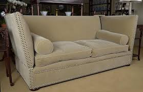 Knole Settee For Sale Upholstered Knole Sofa Retailed By George Smith