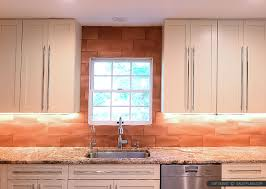 Copper Backsplash Tiles For Kitchen 6 Copper Backsplash Tile Typhoon Bordeaux Granite