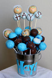 baby shower cake pop bouquet baby shower diy